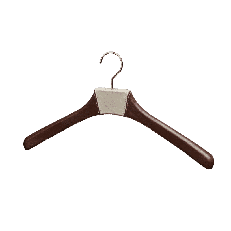 leather hanger for shirt