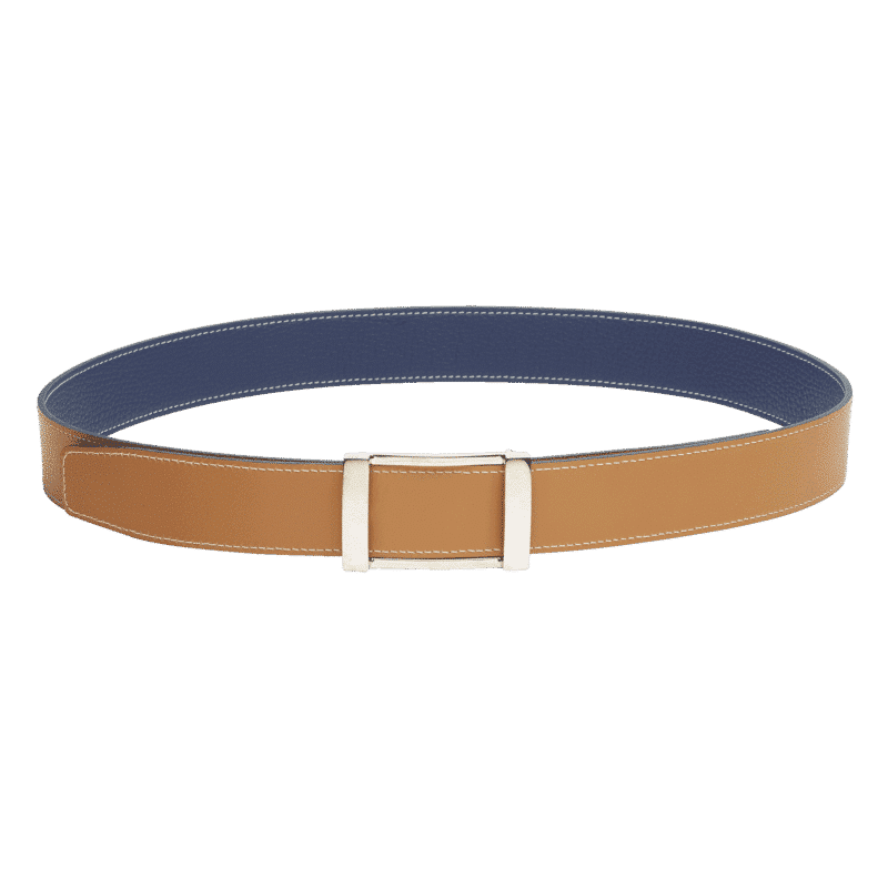 Reverso Belt - Blue Jean / Natural
