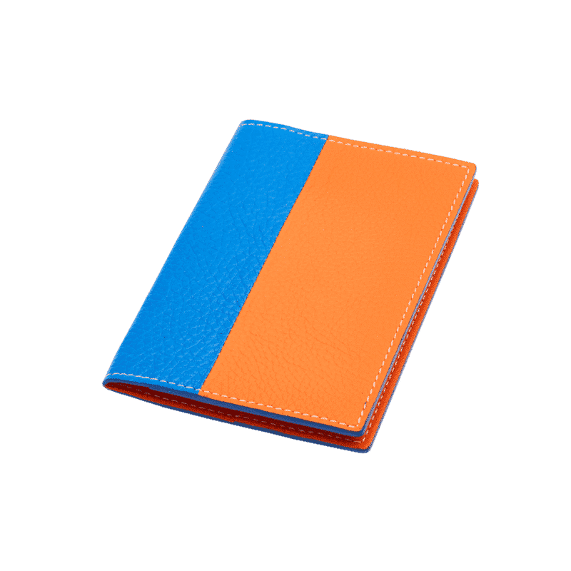 Protect passport Volte face - Blue azur/Orange