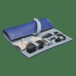 Luxury travelling kit Blue/Gray